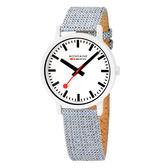 MONDAINE 瑞士國鐵 essence系列腕錶-41mm / 天空藍 41110LD
