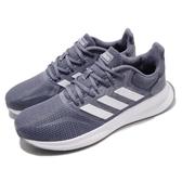 adidas 休閒慢跑鞋 Runfalcon 藍 白 低筒 女鞋 運動鞋【PUMP306】 F36217