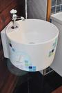 【麗室衛浴】彩繪洗臉盆 SCIEN 325-M08 40CM 圓型