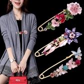 絲巾扣胸針郁金香大號胸花女領針外套開衫別針固定衣服配飾品韓國