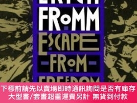 二手書博民逛書店Escape罕見From FreedomY464532 Erich Fromm Holt Paperbacks