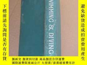 二手書博民逛書店SWIMMING罕見& DIVING 《游泳與 水》 體育專業書