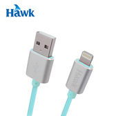 HAWK 鋁合金LIGHTNING 充電傳輸線 綠