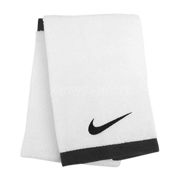 NIKE 運動毛巾 Fundamental Towel 白 黑 大毛巾 浴巾 純棉 健身房 運動 籃球【PUMP306】 NET1710-1LG