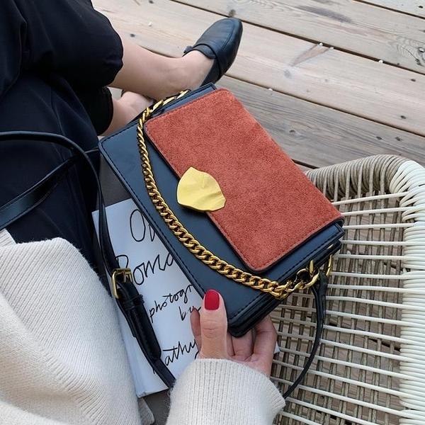 春夏高級感包包洋氣女包2020新款潮韓版百搭斜挎包時尚撞色 【端午節特惠】