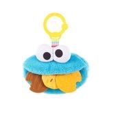 【愛吾兒】KIDS II Bright Starts 芝麻街布偶固齒器-餅乾怪獸