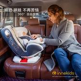 非isofix 硬接口  兒童安全座椅汽車用嬰兒寶寶車載可坐躺旋轉  米蘭shoe