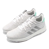 adidas 慢跑鞋 Questar X BYD 白 灰 避震透氣 基本款 女鞋 運動鞋【PUMP306】 F34651