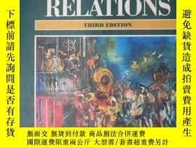 二手書博民逛書店MAJORITY-MINORITY罕見RELATIONS(THI