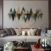 金屬立體鐵藝壁飾臥室客餐廳房間沙發背景墻面裝飾品掛件【Kacey Devlin】