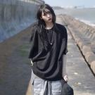 長款上衣 短袖t恤女年夏季超a韓版寬鬆中長款BF純色白色上衣ins潮 晶彩 99免運