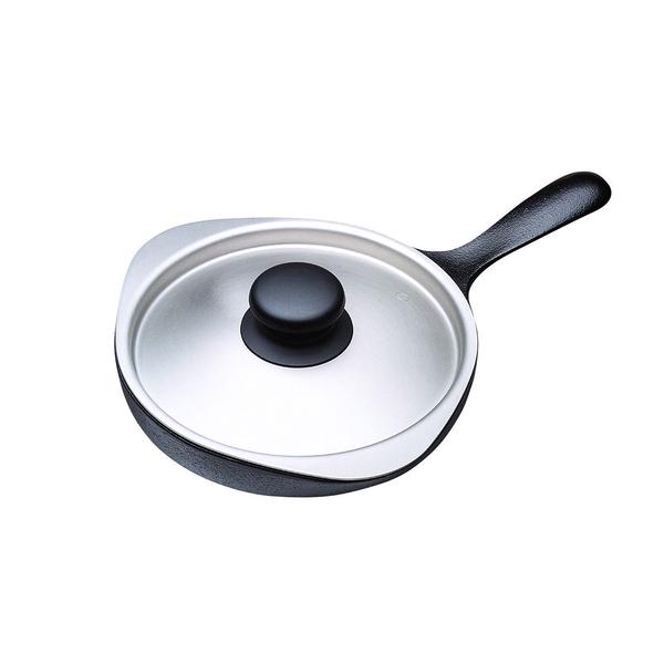 日本 Sori Yanagi Tekki Cast Iron Pan 柳宗理 南部鐵器系列 迷你煎盤 / 平底鍋(附不鏽鋼蓋)