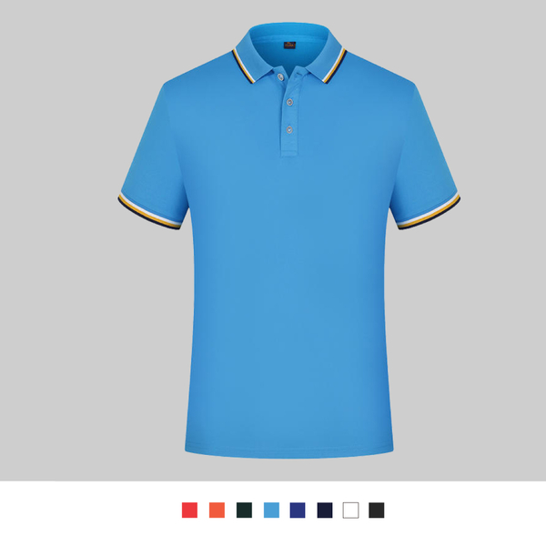 【晶輝團體制服】LSQ4*配色素面POLO衫(印刷免費)公司制服,班服