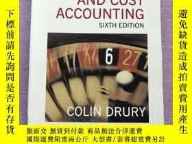 二手書博民逛書店Management罕見and Cost Accounting