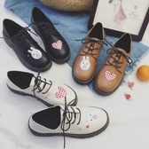 洛麗塔鞋子女學生可愛日系小皮鞋軟妹百搭原宿平底單鞋女2019新款