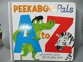【書寶二手書T8/少年童書_GHR】Peekaboo Pals A to Z_Lucas, Gareth (ILT)