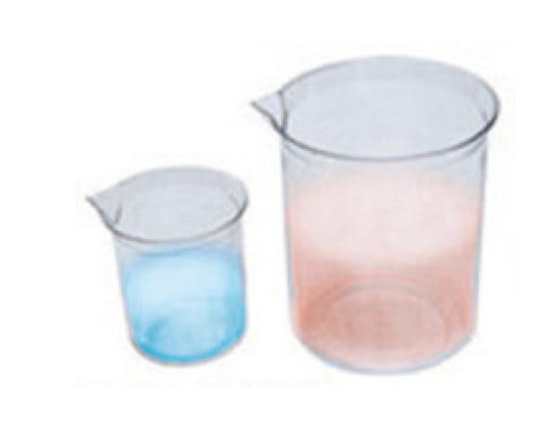 透明塑膠量杯(壓克力製品) 1L  燒杯 西點 麵包 廚房料理 居家 裝水 實驗 1000ml