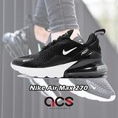 Nike 慢跑鞋 Wmns Air Max 270 黑 白 女鞋 大氣墊 大型後跟氣墊 舒適緩震 【ACS】 AH6789-001