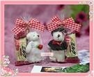 一定要幸福哦~~甜蜜幸福熊喜糖、(10份250元)、結婚.生日.情人節.婚禮小物