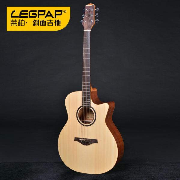 【金聲樂器】LEGPAP AH-GA105 原廠EQ 41吋 GA桶 雲杉面單 桃花心側背板 面單 木吉他 民謠吉他