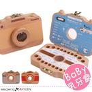 木製相機造型寶寶紀錄存放胎毛乳牙盒...