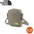 【The North Face 3.2L 休閒單肩包《灰黃》】3BXB/側背包/斜背包/休閒背包/通勤/出國