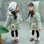 女寶寶棉服冬裝加厚羽絨棉衣兒童2洋氣3歲棉襖女童冬季嬰兒外套1 漾美眉韓衣