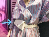 2018新款原宿小包韓版港風手機包街頭迷你小腰包小包包女士皮帶包·9號潮人館
