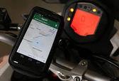 kawasaki sym iphone 6 7 gogoro三陽川崎重機車衛星導航摩托車衛星導航把手把龍頭鎖具支架機車架
