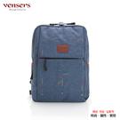 【Vensers】簡約丹寧牛仔後背包(R00066303牛仔藍)