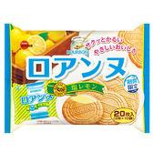 北日本檸檬鹽法蘭酥威化餅家庭號142g【愛買】