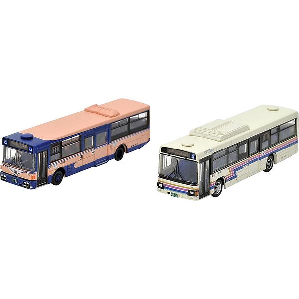 TOMYTEC The Bus 中鉄巴士新舊顏色2台組_TV28784