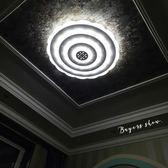 簡約現代客廳燈圓形主臥室led吸頂燈具套裝組合大氣1.5米大燈家用 igo摩可美家
