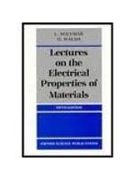 二手書《Lectures on the Electrical Properties of Materials (Oxford Science Publications)》 R2Y ISBN:0198562802