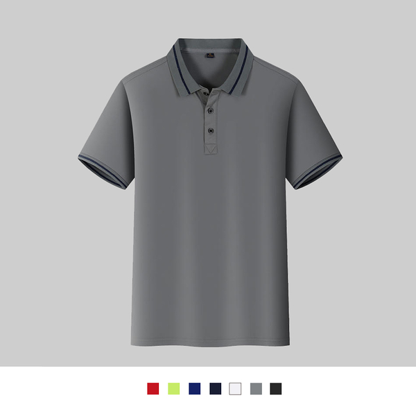 【晶輝團體制服】LSQ5*配色素面POLO衫(印刷免費)公司制服,班服