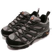 Merrell 戶外鞋 Moab 運動 Gore-Tex 防水 透氣 越野 黑灰 鐵灰 休閒鞋 男鞋【PUMP306】 ML87577