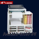A4 9格抽屜 文件櫃  樹德 A4XM3-6H3P3V (資料櫃 公文櫃 辦公櫃 文書櫃 鐵櫃 抽屜櫃 桌上 落地)