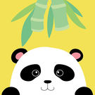 LOVIN 超萌韓版數字油畫 動物系列可愛圓仔(2) 1幅