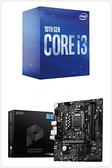 【自組DIY兩件組I3】Intel i3-10100+微星 B560M PRO-E