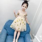 E家人 洋裝兒童連身裙蓬蓬紗公主裙
