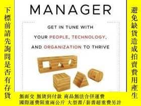 二手書博民逛書店The罕見Plugged-In Manager: Get in Tune with Your People, Te