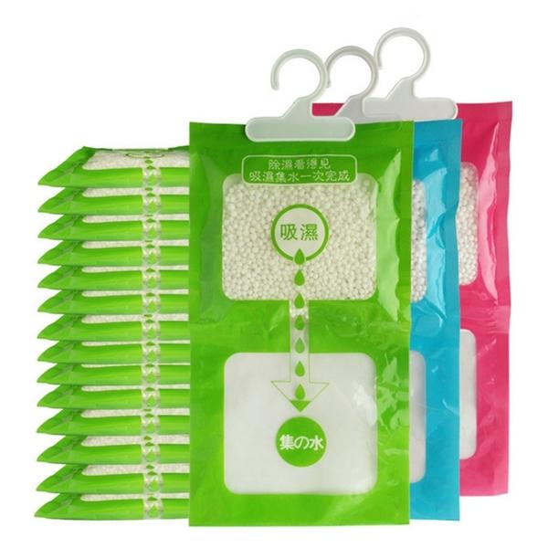 除濕袋 除濕劑 大容量 防潮袋 吸濕袋 乾燥劑 掛式集水袋 防潮 可掛式除濕包【A008-3】MY COLOR