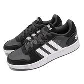 【海外限定】adidas 休閒鞋 Hoops 2.0 黑 白 NEO 男鞋 復古籃球鞋 愛迪達 運動鞋【ACS】 FY8626