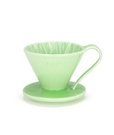 金時代書香咖啡 CAFEC Flower Dripper 花瓣濾杯 1-2人 綠色 CFD-01-GR