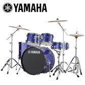 小叮噹的店-全新 YAMAHA RYDEEN 藍色爵士鼓(5件套組) RDP2F5 加附鼓毯 鼓椅 公司貨