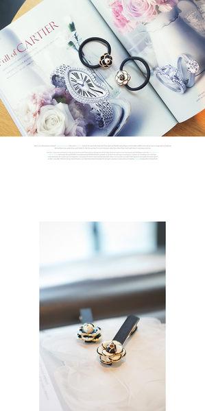 Star - 其他類 -  韓國山茶花髮圈/髮夾 -F47