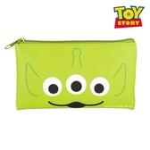 日本限定 迪士尼 玩具總動員 三眼怪 大臉版 收納袋 / 扁平口袋 / 筆袋 / 鉛筆盒