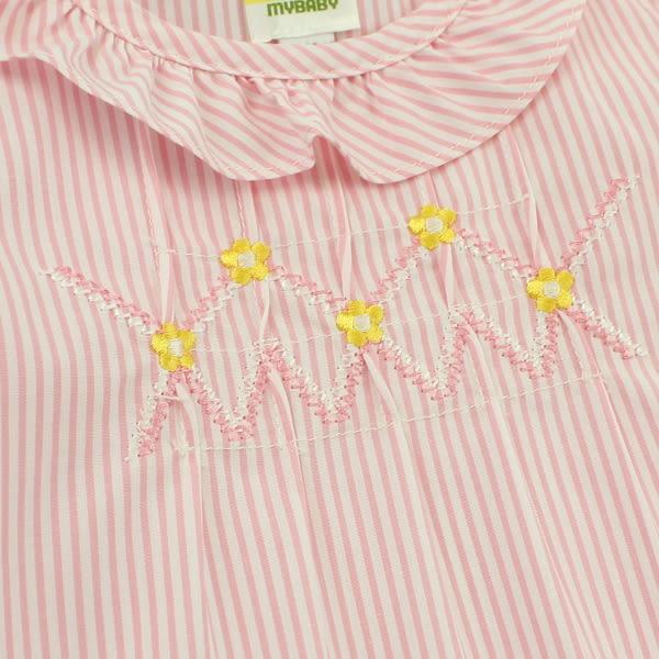 【愛的世界】純棉洋裝兩件式包屁衣套裝/6個月/2歲-台灣製- ★幼服推薦 全面五折