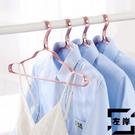 【10個裝】衣架金屬衣架家用晾衣架衣服撐衣掛干洗店衣架【左岸男裝】