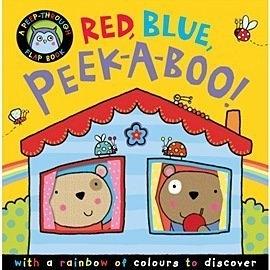 【幼兒迷藏書/主題: 顏色】 RED BLUE PEEK-A-BOO!